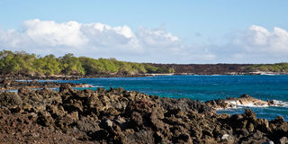 Maui's Rocky Coastline Royalty Free Stock Photo
