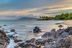 Maui's Secret Beach At Sunrise Royalty Free Stock Photos