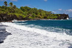 Maui's Wai'anapanapa State Park Stock Images