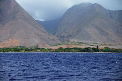 Maui Shoreline Stock Photo