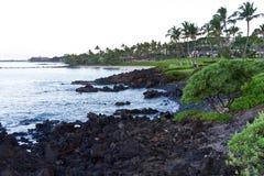 Maui strandsikt Arkivfoton