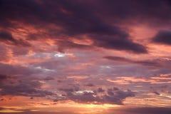 Maui sunset. Royalty Free Stock Photography