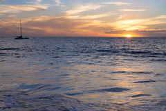 Maui Sunset Royalty Free Stock Images