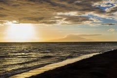 Maui sunset Stock Photography