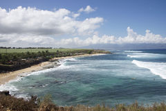 Maui surfer's beach Royalty Free Stock Image