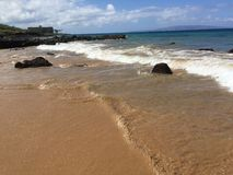 Maui-Wasser lizenzfreie stockbilder