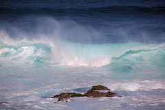 maui waves Royaltyfri Fotografi