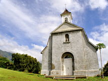 Maui White Church Royalty Free Stock Photography