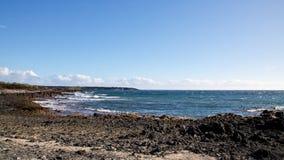 Mauis felsige Küste Lizenzfreies Stockbild