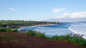 Mauis Ho'okipa strand Royaltyfria Bilder