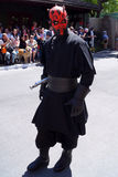 Maul Darth на выходных Звездных войн на мире Дисней стоковая фотография