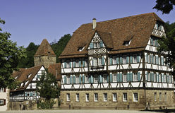 maulbronn средневековое Стоковые Фото