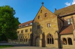 Maulbronn abbotskloster, Tyskland, medeltida monument för Unesco-världsarv Arkivfoton