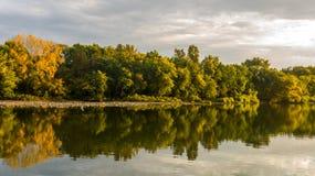 Maumee rzeka Zdjęcia Stock