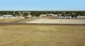 Maun Airport in Botswana Stock Images