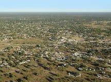 Maun i Botswana royaltyfria foton