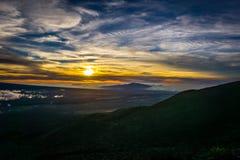 Mauna Kea καθορισμένη Στοκ Εικόνα