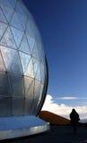 Mauna Kea Dome. A dome sits at the top of 14,000-foot-high Mauna Kea on the Big Island of Hawaii stock photography
