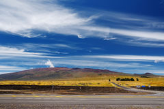 Mauna Kea, a dormant volcano on the island of Hawaii, USA Royalty Free Stock Photography