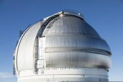 Mauna Kea Gemini North Telescope, ilha grande, Havaí foto de stock