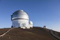 Mauna Kea Gemini North Telescope, ilha grande, Havaí fotos de stock royalty free