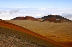 Mauna Kea, Hawaii. Mauna Kea above the clouds Royalty Free Stock Image