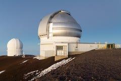 Mauna Kea Hawaii Observatories Stock Images