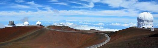 Mauna Kea Observatories Immagini Stock Libere da Diritti