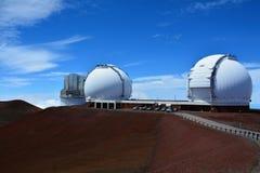 Mauna Kea Observatories Immagine Stock