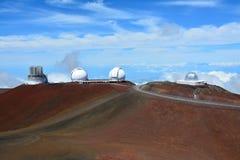 Mauna Kea Observatories Fotografie Stock