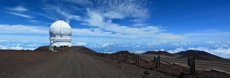 Mauna Kea Observatories Fotografia Stock Libera da Diritti