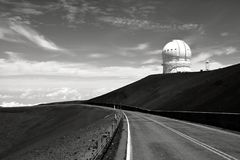 Mauna Kea Observatories Immagine Stock Libera da Diritti