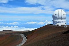 Mauna Kea Observatories Fotografia Stock