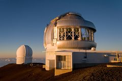 Mauna Kea Observatory Stock Photos
