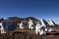 Mauna Kea Observatory Royalty Free Stock Photography