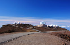 Mauna-Kea-Observatory, Hawaii, USA Stock Images