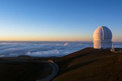 Mauna Kea Observatory Royalty Free Stock Images