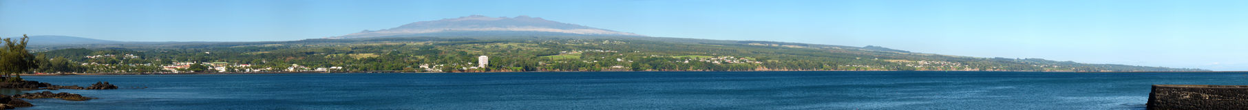 Mauna Kea Panorama Royalty Free Stock Image
