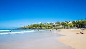 Mauna Kea plaża Fotografia Royalty Free