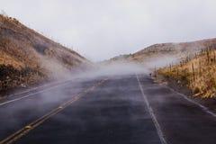 Mauna Kea Road Stock Image