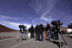 Mauna Kea Star Tour Stock Images