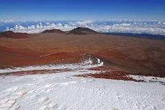 Mauna Kea Summit, Havaí Fotos de Stock Royalty Free