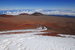 Mauna Kea Summit, Hawaii Royaltyfria Foton