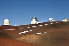 Mauna Kea summit Royalty Free Stock Image