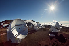 Mauna Kea summit Stock Photography