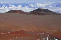 Mauna Kea Summit View, Hawaii Royaltyfri Bild