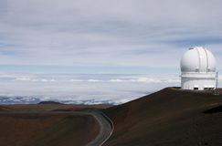Mauna Kea Telescope Royalty Free Stock Photo