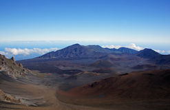 Mauna-Kea-Vulcano, Hawai, U.S.A. Fotografia Stock
