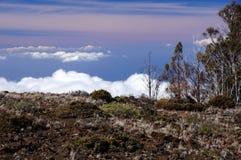 Mauna-Kea-Vulcano, Hawai, U.S.A. Fotografia Stock Libera da Diritti