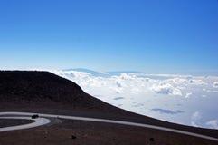 Mauna-Kea-Vulcano, Hawai, U.S.A. Immagini Stock Libere da Diritti